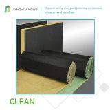 절연제를 지붕을 달고 벽으로 막기 위하여 적용되는 섬유유리 청각적인 절연제 유리솜
