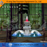 Fuente del control de programa del diseño de Seafountain con la lámpara decorativa