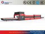 Southtechの組合せの平らなか曲がるガラス陶磁器のローラー処理機械(NPWG)