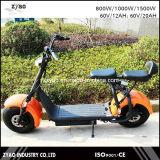 Motociclo elettrico delle rotelle dei Cochi 2 della città del E-Motorino, motorino elettrico adulto 62V/72V 20ah della città 1000W