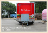 Ys-Fv390h de Mobiele Bestelwagen van Kebab van de Aanhangwagen van de Keuken
