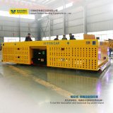 Mesa grande Vagão Plataforma ferroviária motorizado Carrinho de transporte eléctrico