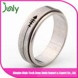 Anel para anéis de casamento dos homens do aço inoxidável dos homens