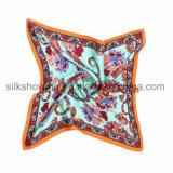 최고 Quanlity 다채로운 실크 능직물 직물 스카프