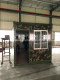 Casa pré-fabricada do baixo projeto colorido modular do lucro/Prefab móvel