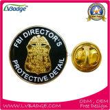 La policía Badge Pin de metal Placa Placa Placa Oficial Militar