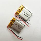 Batería recargable de la batería de litio del polímero 3.7V 280mAh