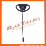 Écouteur de suspension à écouteurs ajustable en forme D en type Qd