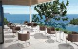 Jardim Sofá piscina cadeiras de contrato com as pernas de aço inoxidável