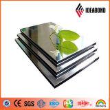 LDPEのコア物質的で適用範囲が広いプラスチック銀製ミラーのアルミニウム合成のパネル