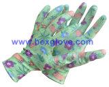 Gant estampé par couleur, gant de jardin