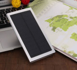 8000mAh Batería del teléfono móvil portátil compacta Cargador Solar Power Bank