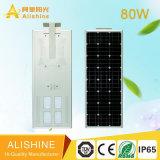 80W de Control Remoto de buena calidad Lámpara Solar para Jardín Lámpara de Pared LED Luz solar calle