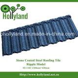 Гофрированные стальные кровельной плитки с каменным покрытием (колебания типа)