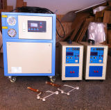 水冷却装置との携帯用誘導電気加熱炉の高周波15kw