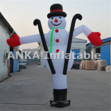 Inflable Sky Dancer Santa Claus para la celebración de Navidad