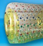 水ゲームのための膨脹可能なローラー様式水歩く球