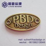 Customn青銅色亜鉛合金の家具のラベル