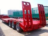 3 Aanhangwagen van de Vrachtwagen van de Aanhangwagen van de Aanhangwagen van Lowbed van de as de Semi Semi