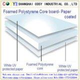 Tarjeta de papel colorida de la espuma con la alta calidad para la publicidad al aire libre