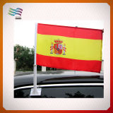 Изготовленный на заказ дешевый флаг окна автомобиля полиэфира 30*45cm для рекламировать (HY1123)