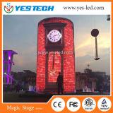 Bom indicador programável do sinal do diodo emissor de luz da cor cheia de dissipação de calor
