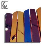 Edelstahl-Platte des PET Beschichtungmtc-blaue Veilchen-304