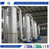 Gomma residua/pirolisi di plastica al sistema di olio