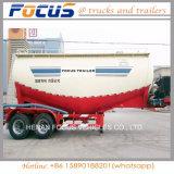 Rimorchio all'ingrosso asciutto dell'elemento portante del camion di autocisterna del cemento di forma di v (capienza di 45 cbm)