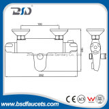 Robinet en laiton Yuhuan Manufaturer de bassin de grand de qualité de lavabo chrome thermostatique de mélangeur