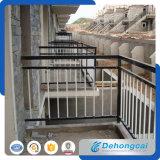 Décoration classique de clôtures en fer forgé de haute qualité