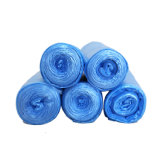 Eco-Friendly Blue LDPE/HDPE Trash/Garbage/Rubbish Bags