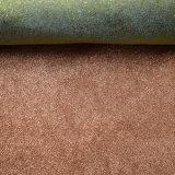 Tissu mou de polyester pour le tissu chaud d'estampage d'or de chaussures