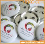 Ориентированный на заказчика значок кнопки с напечатанным логосом (YB-SM-02)