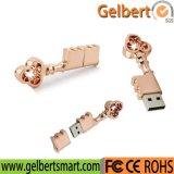 Os melhores movimentação instantânea chave do USB 2.0 feitos sob encomenda do metal do logotipo da venda por atacado do preço