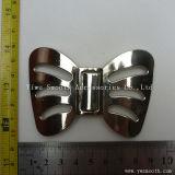 Мода дизайн формы Bowknot Леди металлические для одежды Pearl Преднатяжитель плечевой лямки ремня