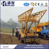Máquina Drilling grande de poço de água do calibre S600