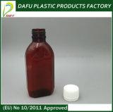 150 ml de xarope de Medicina clara garrafa PET