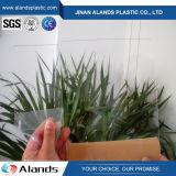 Folha acrílica 3mm com serviços da estaca do laser