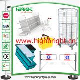 スーパーマーケット冷却装置のためのステンレス鋼のコーナーの保護障壁
