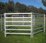 오스트레일리아인 6 Rails Oval Tube Horse Corral Panel 또는 Used Livestock Panel