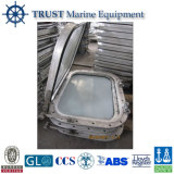Ventana de bote de aluminio Rectangular marina