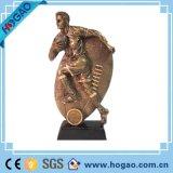Статуи спортсмена смолаы сбывания поставщика Китая горячие для домашнего украшения
