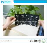 Panneau flexible de vente chaud d'intérieur du prix usine P4 DEL
