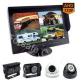 """Bus/Vrachtwagen 9 """" Rear-View Camera van de Auto van het Scherm van de Vierling Ahd"""