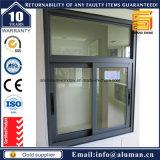 Finestra di alluminio economizzatrice d'energia di vetratura doppia