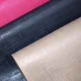 Cuoio di pattino impresso cuoio granuloso del sacchetto dell'unità di elaborazione del tessuto del Faux