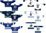 Customized Homens Mulheres Crianças Quebec Grande Liga de Hóquei Jr Shawinigan Cataractes 1988-2008 Estrada Inicial Hóquei no Gelo Jersey