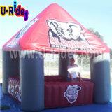 Piccola tenda gonfiabile della cabina per l'evento di pubblicità esterna
