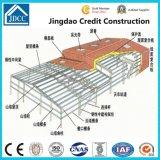鉄骨構造の屋根の構築のガレージ